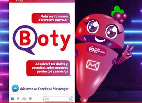 Caja Ica presenta a su asistente virtual Boty