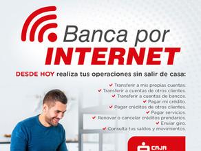 Caja Maynas presenta su banca por internet