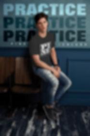 ANV900C blk tee-Block Shirt home page pi