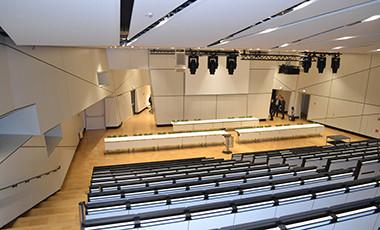 Kongresssaal im Darmstadtium
