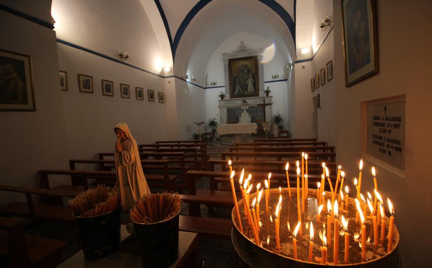 Catholic Church - Mykonos, Greece