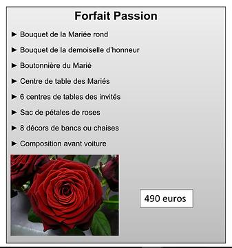 Forfait Passion