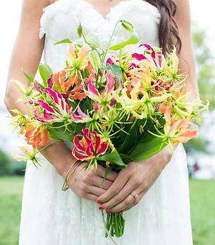 Bouquet de gloriosa