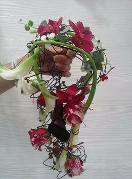 Bouquet structuré