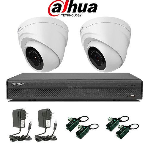 Kit Dvr + 2 Cámaras De Seguridad
