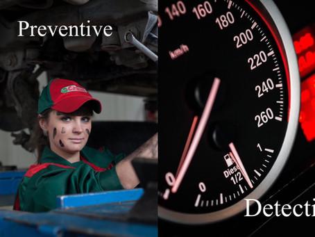 Preventive vs. Detective Controls