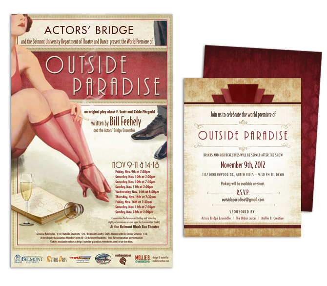 Outside Paradise Poster & Program