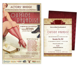 Outside Paradise Poster & Program