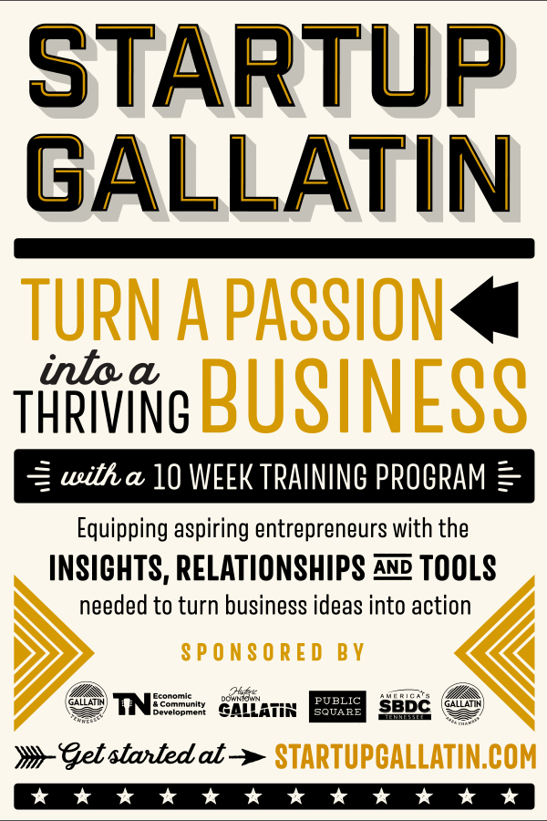 Startup Gallatin Poster