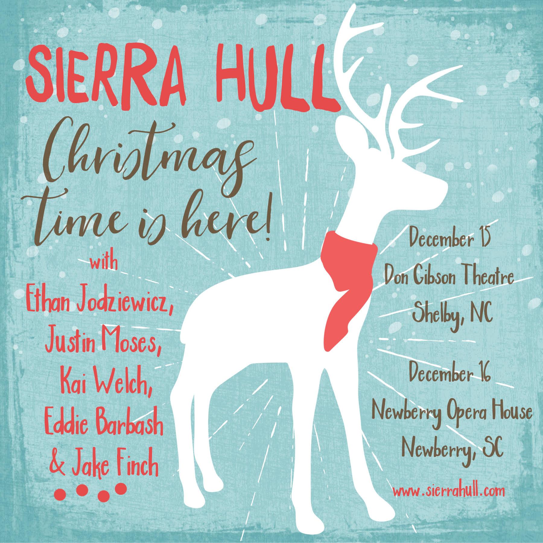 Sierra Hull Christmas Promo