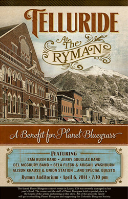 Telluride at the Ryman Poster