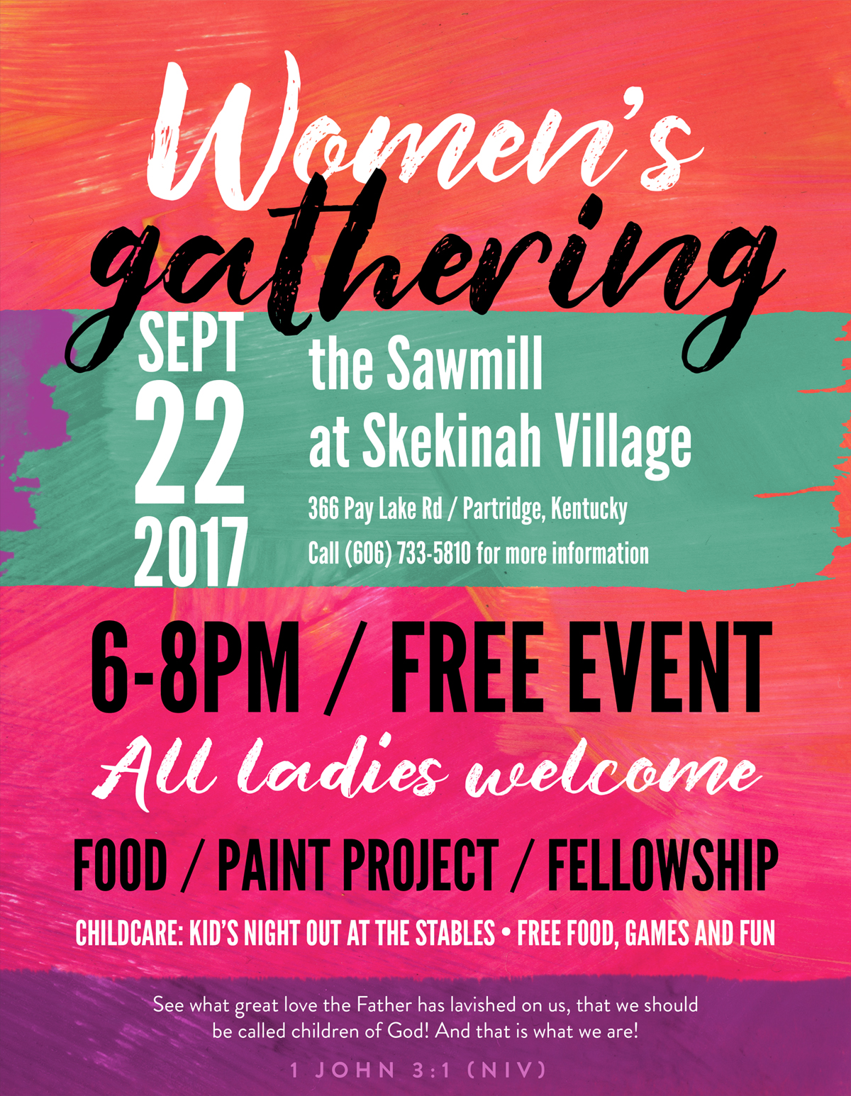 Women's Gathering Flyer
