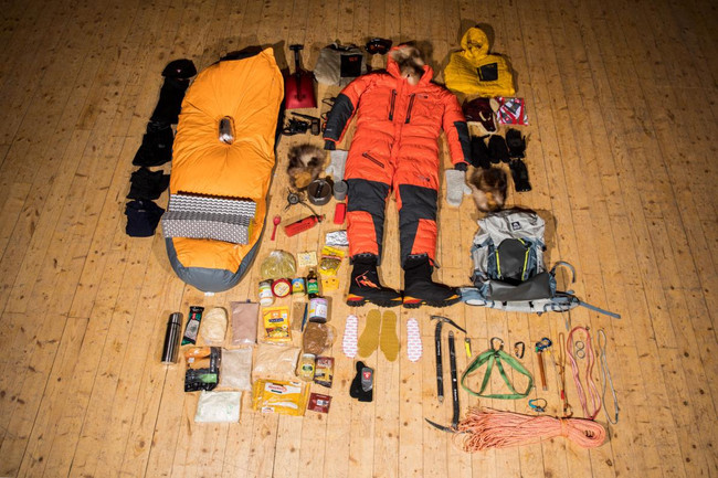 Nat Geo: Veteran Arctic explorer and mountaineer Lonnie Dupre has the packing of his provisions down