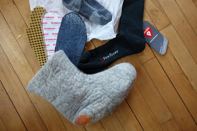 Gearing up for a Winter Climb: How to Keep Feet Warm at -60F?