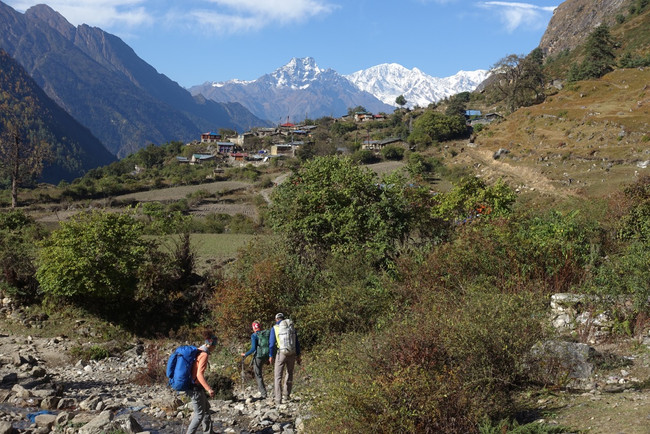 Vertical Nepal: Looking Back in the Tsum Valley