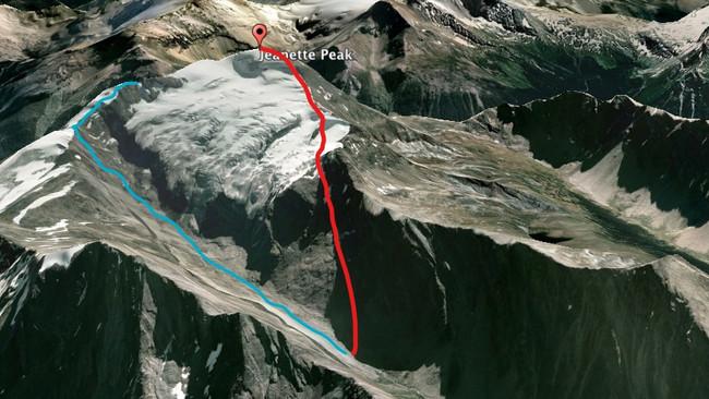 Part 4: Jeannette Peak - The Routes