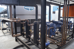 Compressors and pipe work