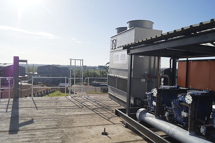 Water cooled refrigeration plant