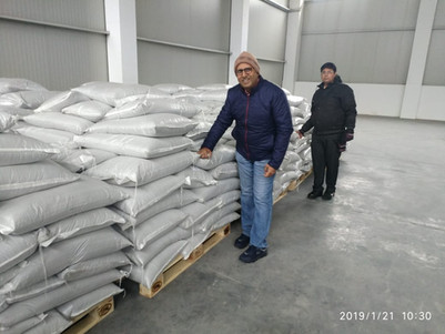 Indian partners having a visit to our warehouse in Varna
