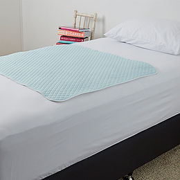 ALL PURPOSE BED PAD - PALE BLUE (BD1003P)