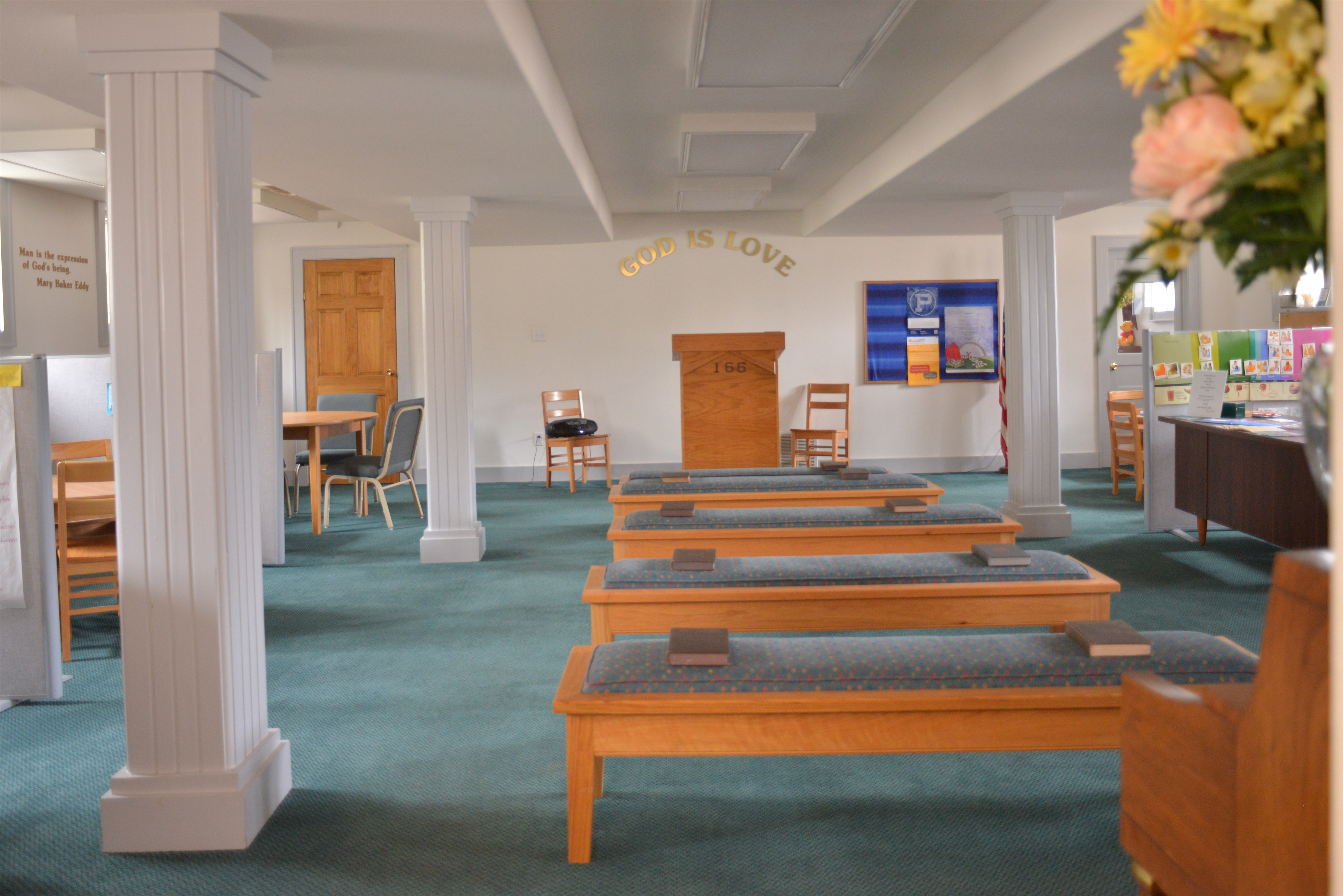 Durango Church Sunday School Room