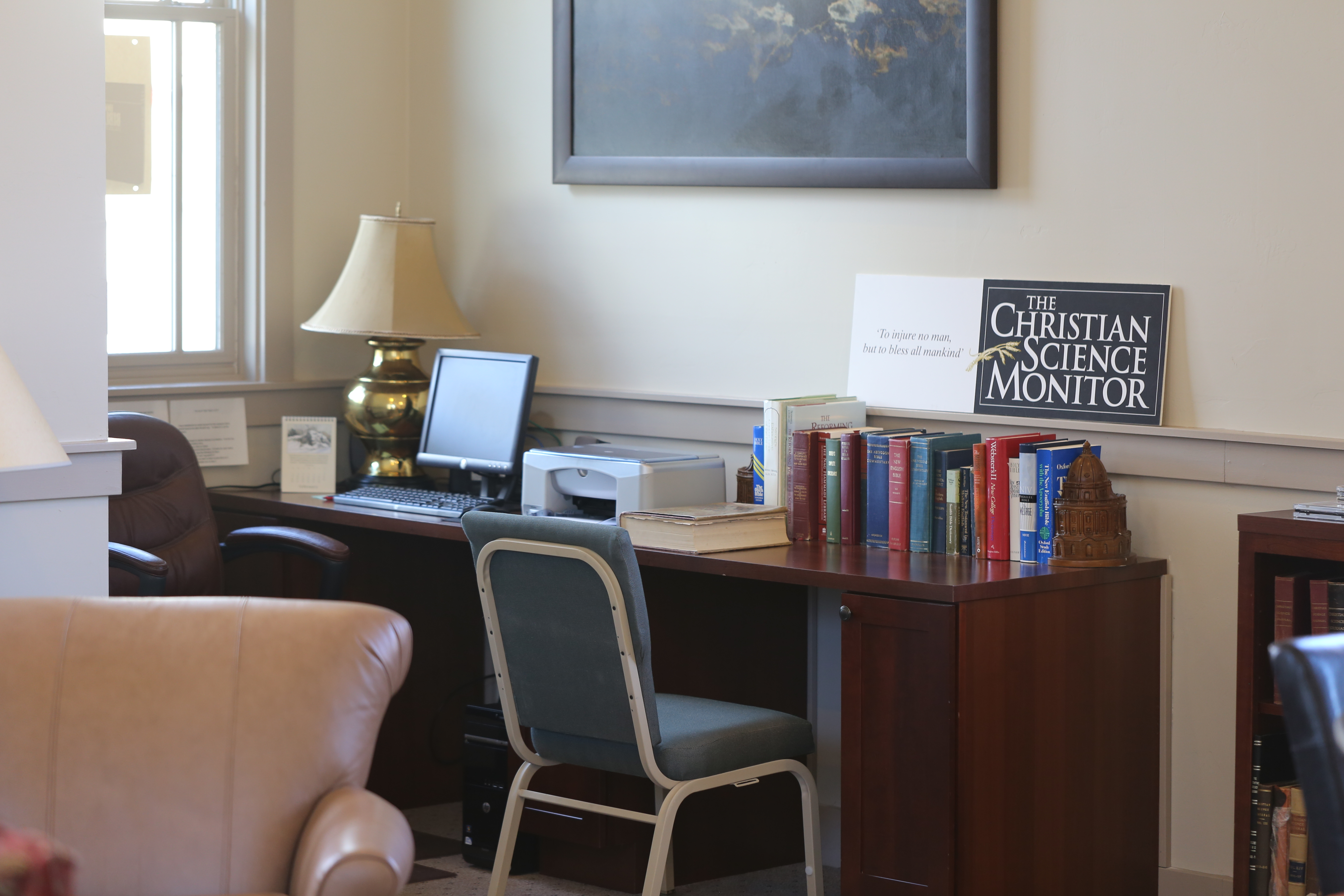 Durango Reading Room Study corner