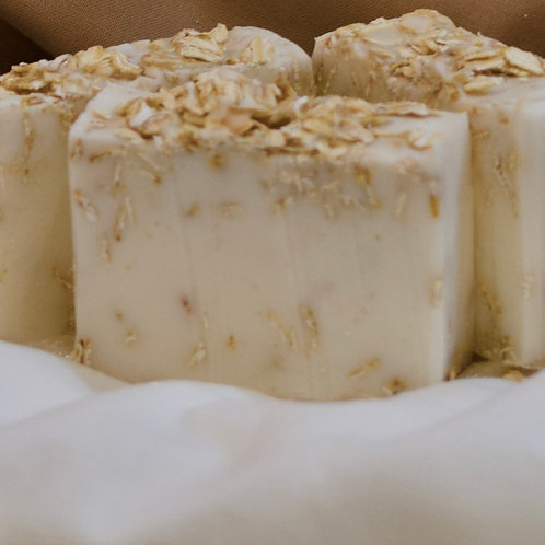 simply clean oatmeal shea soap