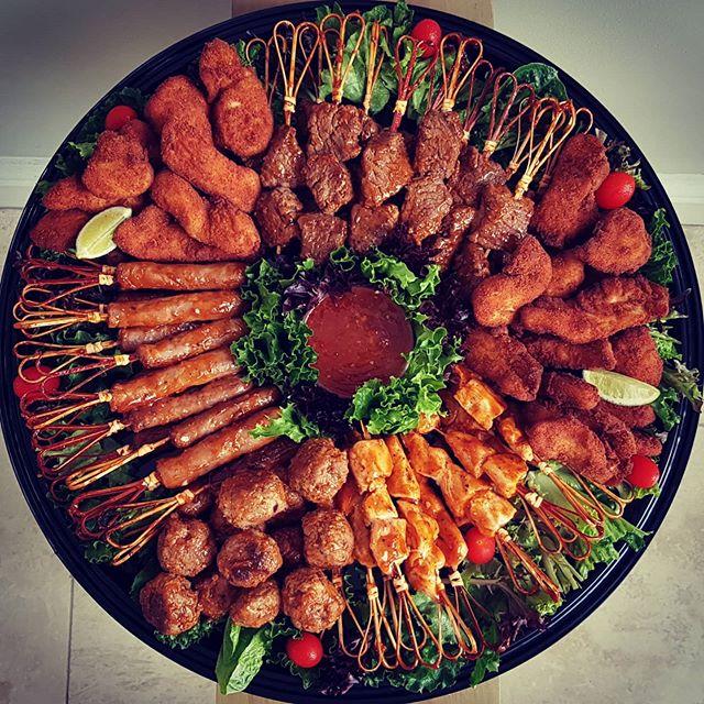 Meaty feast