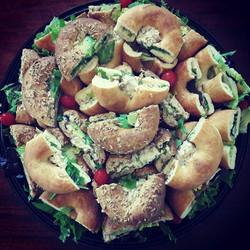 Filled Bagels