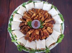 Wraps & Crumbed Chicken