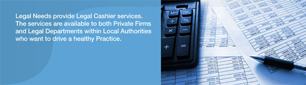 Outsourced Legal Cashier