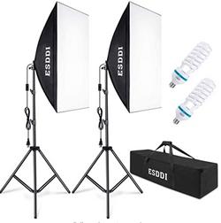 ESDDI Softbox Photography Lighting Kit 800W