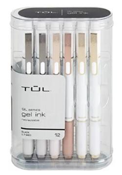 TUL Retractable Gel Pens