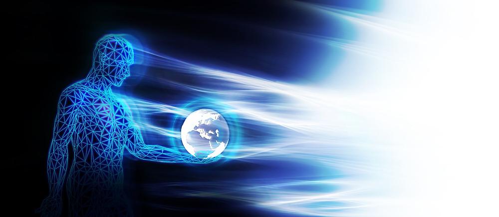 Quantic Energy Illustration
