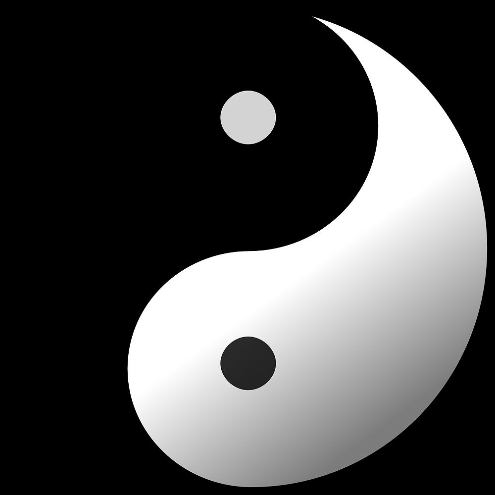"""Taijitsu or most known as """"the Yin and Yang"""" symbol."""