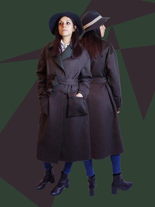 Cashmere 80's style coat / 80年代スタイルカシミヤコート