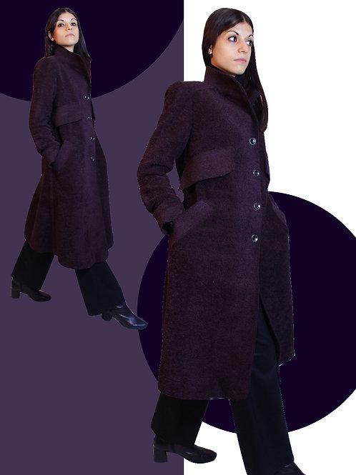 Long bordeaux coat / ボルドーロングコート