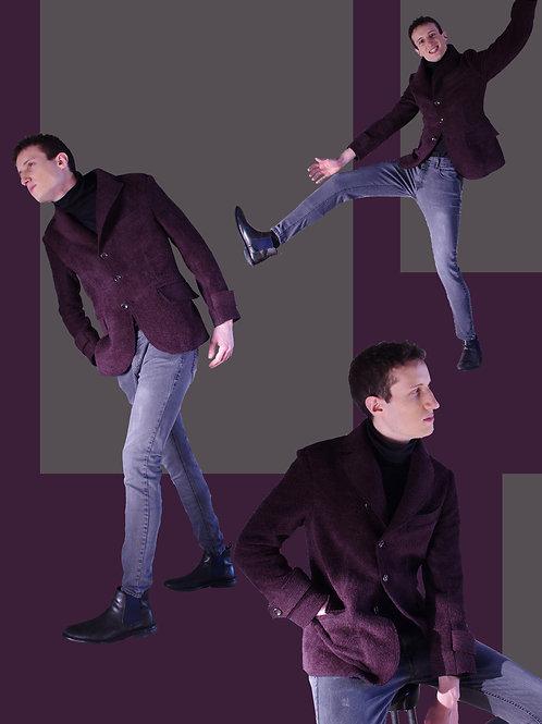Bordeaux military style jacket / ボルドーのミリタリージャケット