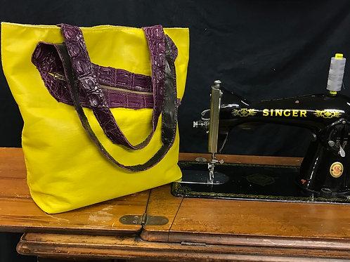 Yoshi Original Handmade Leather Tote Bag