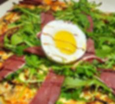 La pizza périgourdine, tout canard, un délice...