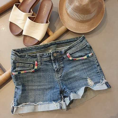 מכנס גינס קצר 38