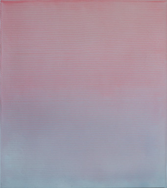 Pink Blue Reversed - 100x90cm - Acylic a