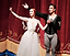 Ksenia Ovsyanick, StaatsBallett Berlin, English national Ballet, prima ballerina Belarus, Russia, London, International Ballet Gala, Giselle, curtain call, With Denis Viera