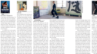 "New article in ""Tanz"" Magazine"