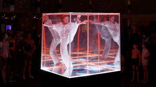 Infinite 1.5 Dance and Light Installation/Performance