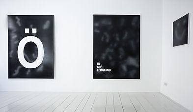 Zeit fur Brot, solo exhibition of Zdenek Konvalina, Artists positions, Oil on canvas, ömoji - Berlin artist painter, Acrylic and spray paint on canvas. German contemporary artists, czech painter, art to collect today
