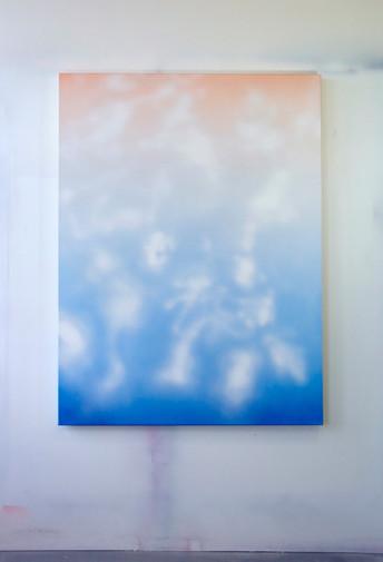 Clouds Orange Blue
