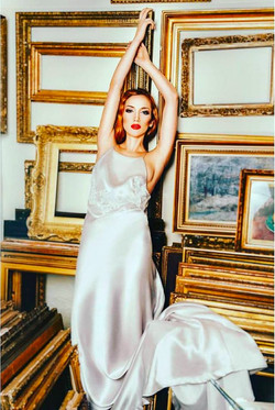 ballerina model Ksenia Ovsyanick