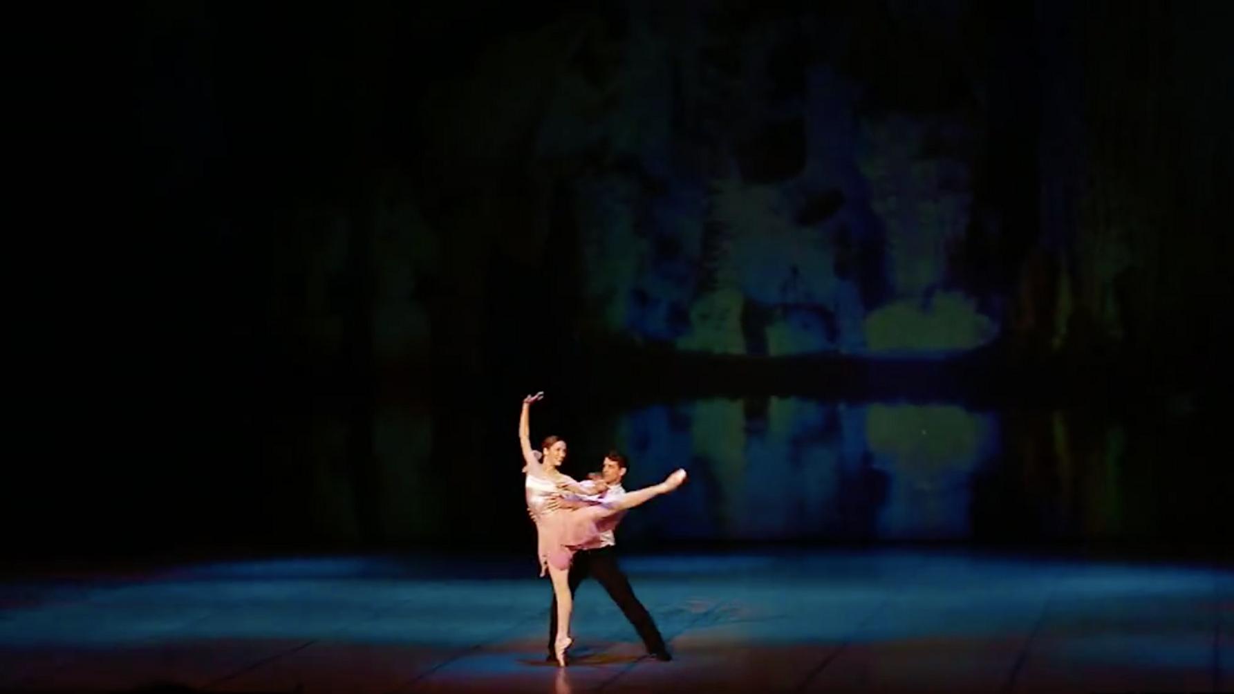 Who Cares?, Balanchine, Ksenia Ovsyanick and James Forbat