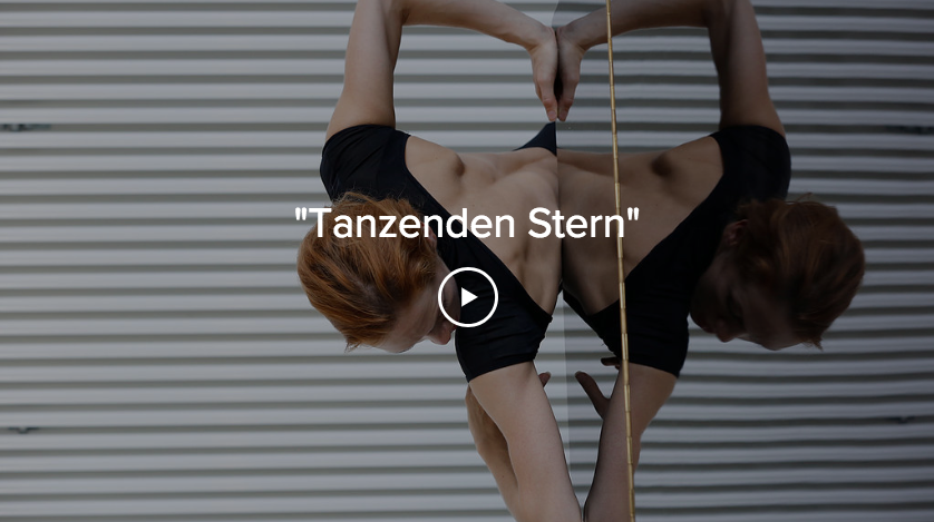 Tanzenden Stern, video and painting installation created in collaboration with artist Zdenek Konvalina and MTart.